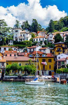Torno, Province of Como, Lombardy region, Italy-- Copyright: Anton_Ivanov / via shutterstock