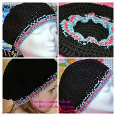 Clara, crochet hat, ebook, pattern #sternenzauber