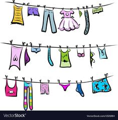 Find Clothes On Clothesline Sketch Your Design stock images in HD and millions of other royalty-free stock photos, illustrations and vectors in the Shutterstock collection. Thousands of new, high-quality pictures added every day. Going Postal, Printable Crafts, China Painting, Watercolor And Ink, Watercolor Ideas, Clips, Clothes Line, Vector Art, Your Design