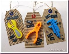 DIY father's day DIY Fathers Day Gift Tags DIY father's day