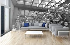 Fototapeta trójwymiarowa 3d #fedkolor #salon #fototapeta #trójwymiar #3d #iluzja #obraznapłótnie #wydrukujzdjęcie #zdjęcienapłótnie #wnętrza #interiors #ozdoby #dekoracje #naścianę #naścienne #aranżacje #inspiracje Interior Desing, Interior S, Dining Bench, 3 D, Furniture, Chairs, Home Decor, Tinkerbell, World