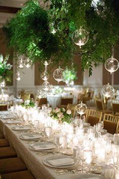 Gorgeous wedding reception; photo: Sarah Kate Photography
