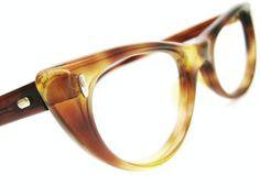 Vintage 50s Cat eye Glasses Eyeglasses Sunglasses Frame