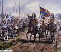 On this day in 1651 the Battle of Worcester is fought during the Third English Civil War, Oliver Cromwell and the Parliamentarians defeated the Royalist, predominantly Scottish, forces of King Charles II. The Royalist forces were overwhelmed. Uk History, British History, Modern History, Family History, Military Art, Military History, Military Uniforms, House Of Stuart, Thirty Years' War