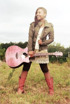 Jamie Grace, is an amazing Christian singer from Atlanta Georgia (well a small town near there). She is one of my role models!