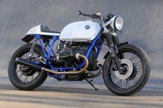"Bmw ""Cafè Racer Azure"" by Kevils Speed Shop"