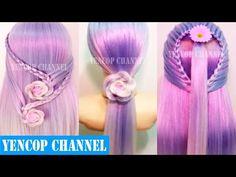 Como Hacer Peinados Faciles y Bonitos & Trenzas Faciles y Bonitas (P7) | Peinado 2016 Yencop - YouTube