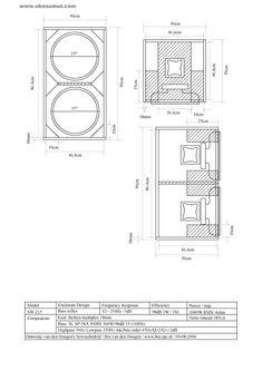 Hasil gambar untuk subwoofer box design for 12 inch Subwoofer Box Design, Speaker Box Design, Speaker Plans, Circuit Diagram, Loudspeaker, Car Audio, Speakers, Engine, Technology