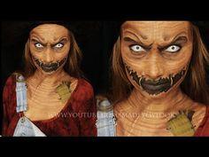 SCAREcrow Makeup Tutorial - YouTube