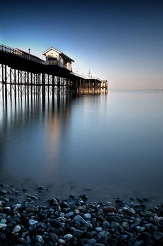 Penarth Pier - Cardiff Bay, Wales    by © Martin Turner