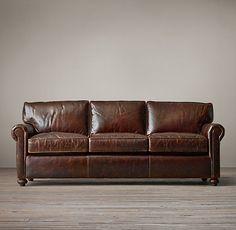 The Petite Lancaster Leather Sofas
