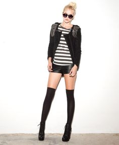 Studded Bouclé Jacket, the whole look! | FOREVER 21