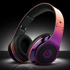 "Beats By Dr. Dre x ColorWare ""Illusion Beats Studios Headphone"" - my daughter's favo"