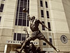 Taş gibi Michael Jordan