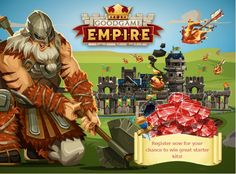Empire is an awesome multiplayer farm management game made by the Goodgame Studios. Your mission is simple: Build your own castle, create a powerful army and fight epic player versus player battles on a dynamic world map.. Enjoy Goodgame Empire