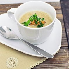 Soup's On: Cream of Mushroom Soup