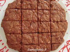 Brownies al cioccolato - Ricette di cucina Il Cuore in Pentola