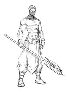 Another Ninja Dude by Sketchydeez.deviantart.com on @DeviantArt