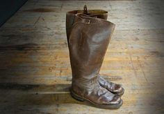 How to break-in womens vintage leather boots...