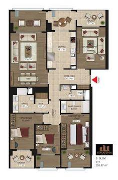 katta 4 daire planı - Google'da Ara