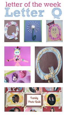 Letter Of The Week Letter Q Activities and crafts  - Pinned by @PediaStaff – Please Visit  ht.ly/63sNt for all our pediatric therapy pins