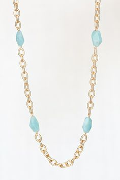 Flourish + Fete Leigh Chain Layering Necklace