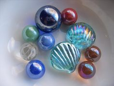 Marbles & Glass shells