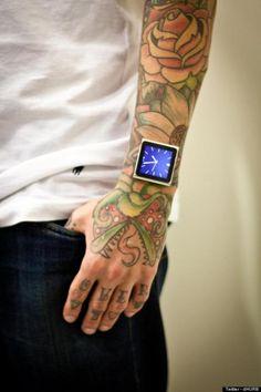 iDermal ou la greffe d'iPod nano au poignet