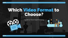 How do you choose the right video formation for a social media post? With options to create videos in Landscape, Portrait, and Square mode, it is often confu Digital Marketing Strategy, Social Media Marketing, Success Video, Facebook Video, Mobile Video, Choose Me, Social Networks, Instagram Story, Blogging