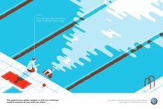 Volkswagen Ads Prints by Tom Haugomat5