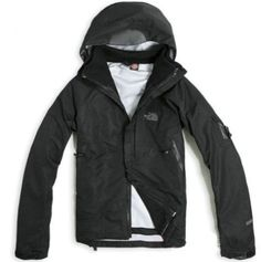 01fcc2bd9f9c The North Face Gore Tex 3 in 1 Jacket Men Black