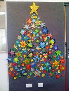 Que tal dar um toque especial à sua árvore de Natal? Veja como são lindas essas árvores artesanais! Ainda...