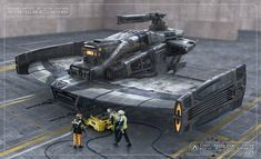 concept ships: Low Visibility Anti-Cruiser Platform by Pat Presley
