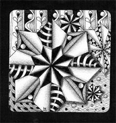 Lily's Tangles: Zentangle@ - #DRAW #ZENTANGLE #ZENDALA #TANGLE #DOODLE…