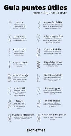 Guía de puntadas para máquina de coser – Little Post