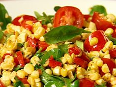Get Grilled Corn Salad Recipe from Food Network