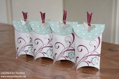 Verpackung Goodie Stampin Up Box Schachtel Give Away Gift Idea 005