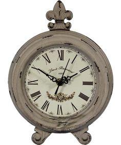 #Deko #Landhausstill Rattan, Decorative Objects, Pocket Watch, Accessories, Cottage Decorating, Cottage Chic, Clock, Ideas, Wicker