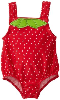 Amazon.com: Osh Kosh Baby-girls Infant Strawberry One Piece Swimwear: Clothing