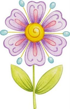 Flores coloreadas para imprimir-Imagenes y dibujos para imprimir
