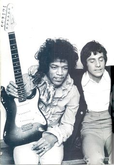 Jimi Hendrix and Cat Stevens, they were on The Walker Brothers farewell tour in Chesterfield.