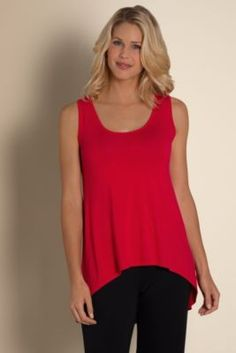 Moves With You Bamboo Tunic - Bamboo Tunic, Drape Tunic, Scoop Neck Tunic | Soft Surroundings