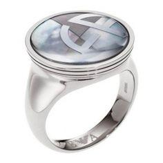 Emporio Armani Womens Ring Steel EGS1508040