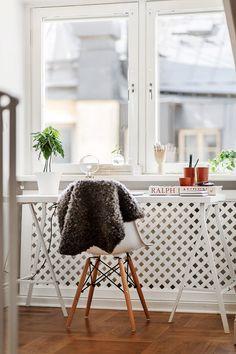 Skrivbord på Skeppargatan 22 A - Fastighetsbyrån på Östermalm