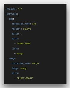 How To Setup Node Express and MongoDB in Docker From Scratch. We will create docker-compose.yml and Dockerfile to configure the Docker Container, and after building the container, we will run the container. We will install Node.js, MongoDB, and Express. React App, Programming Languages, Coral Blue, Web Development, Container, Tips, Computer Science, Counseling