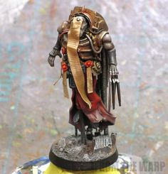 toycutter: Inquisitor Mystic (Warhammer 40k)
