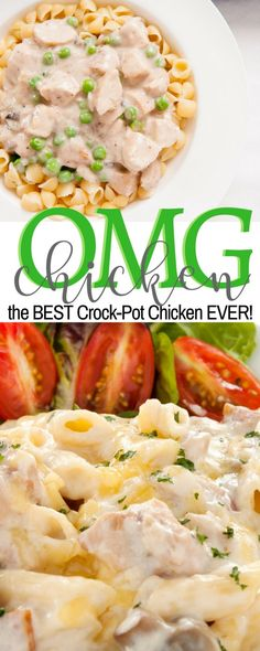 BEST Slow Cooker Chicken Recipe- not healthy at ALL but worth a shot.
