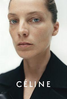 Daria Werbowy Best Beauty Looks in Celine Campaigns - Style.com