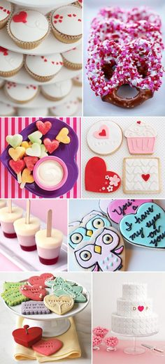Valentine's Ideas - especially like the heart skewers
