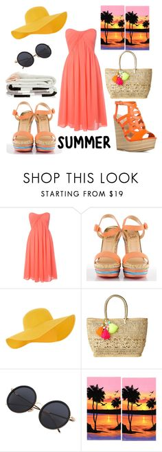 Summer☀ by amandoloszapatos on Polyvore featuring Belleza, Accessorize, Lilly Pulitzer, Glamorous and Christian Louboutin